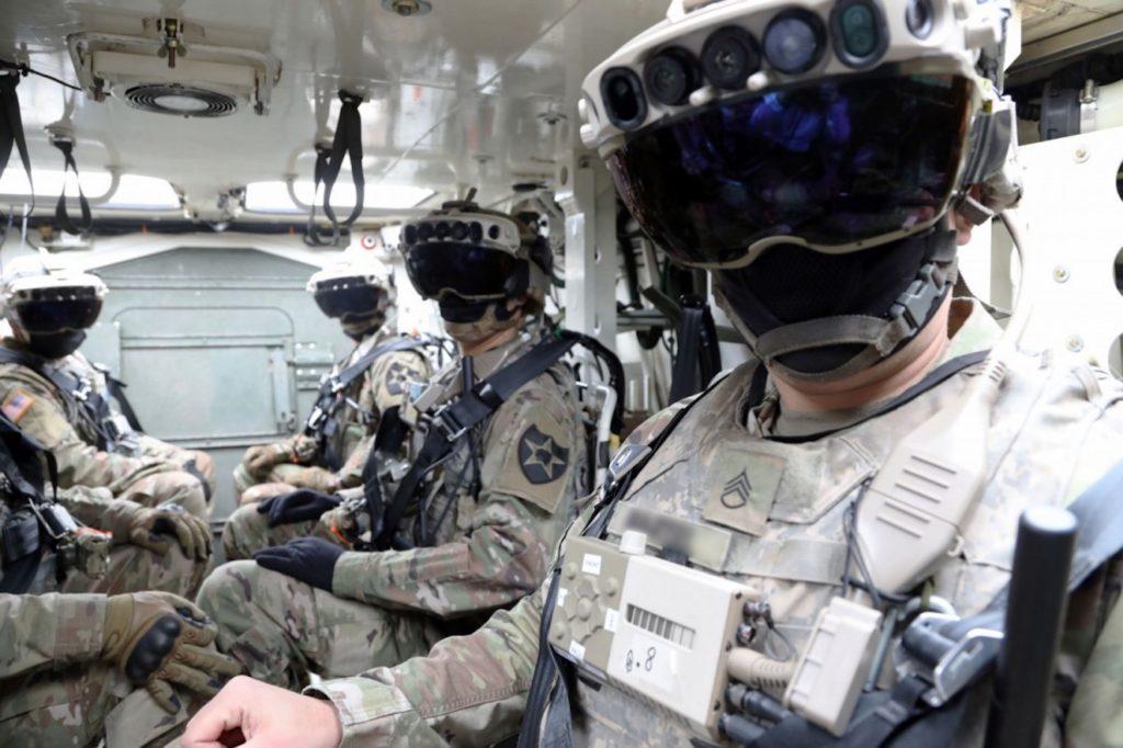 Casque HoloLens Armee Americaine 2