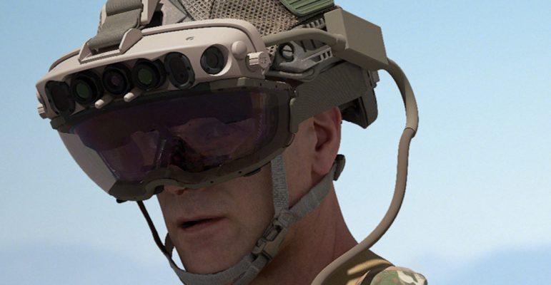 Casque HoloLens Armée Americaine