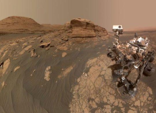 Curiosity Selfie Mars