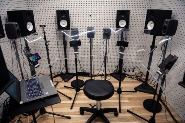 DxOMark chambre de test audio smartphones