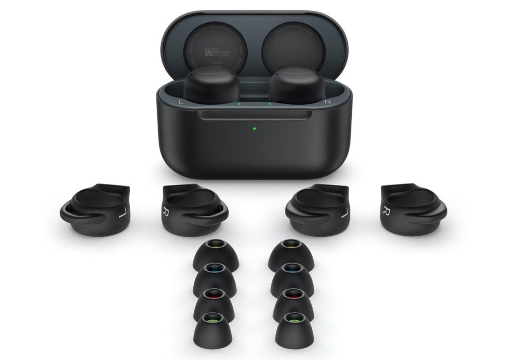 Ecouteurs Amazon Echo Buds 2021 Noir et Embouts