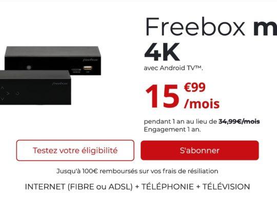 Freebox Mini 4K Hausse Prix