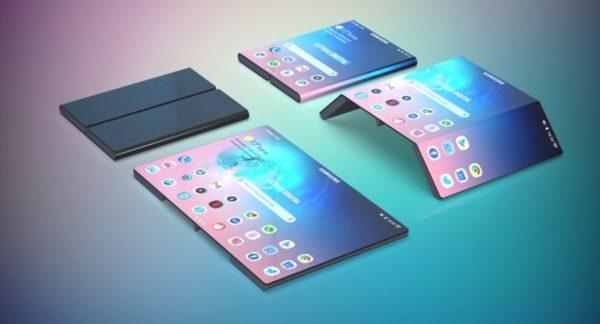 Galaxy Tab pliable
