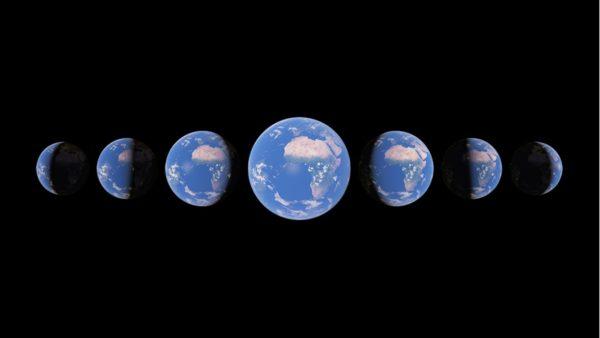 Google Earth Timelaspe