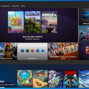 Image article Windows 10 : un nouveau Microsoft Store acceptant tous les jeux/applications en préparation