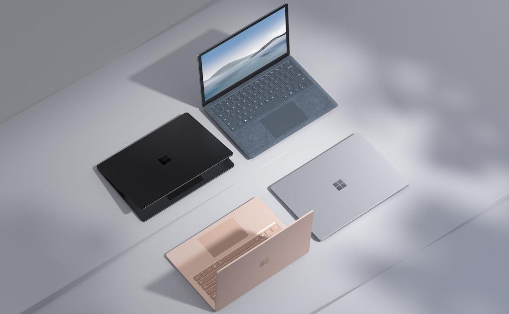 Microsoft Surface Laptop 4 Coloris