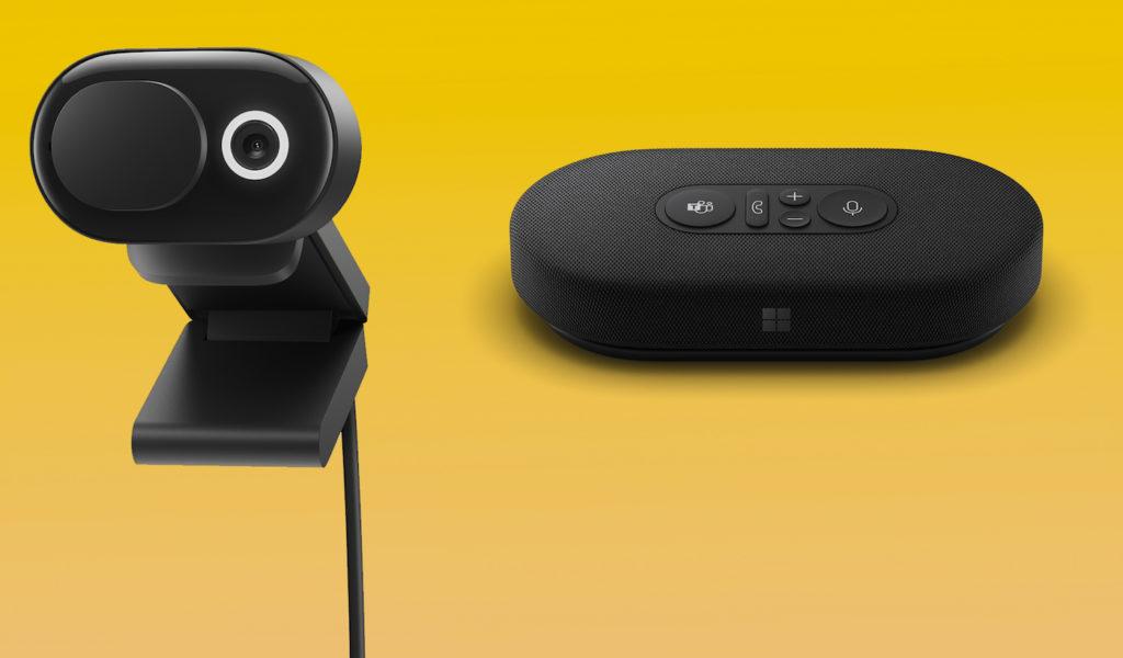Microsoft Webcam et Enceinte