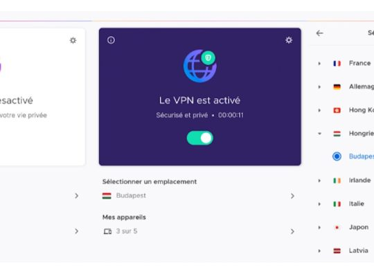 Mozilla VPN Francais