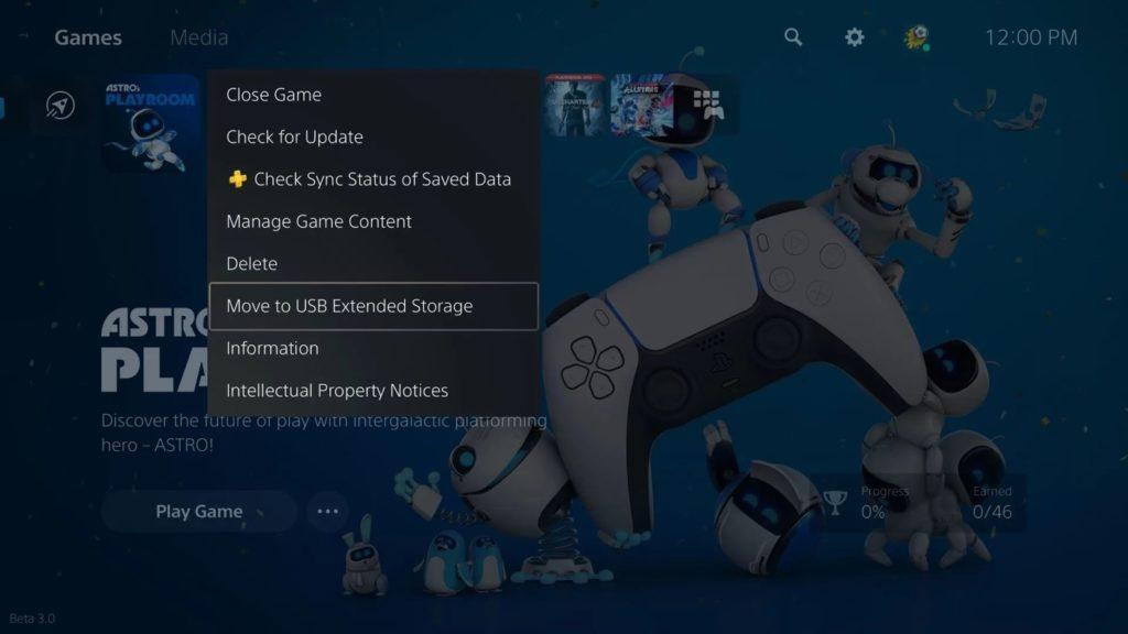 PS5 Stocker Jeux Lecteurs Externes USB