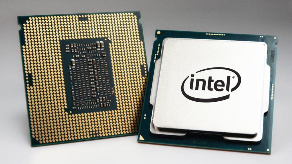 Puce Processeur Intel