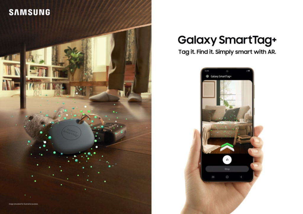 Samsung Galaxy SmartTag Plus Realite Augmentee