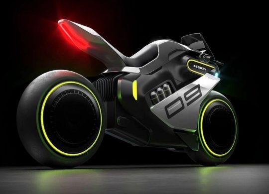 Segway moto futuriste