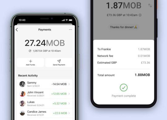 Signal Envoi Argent MobileCoin