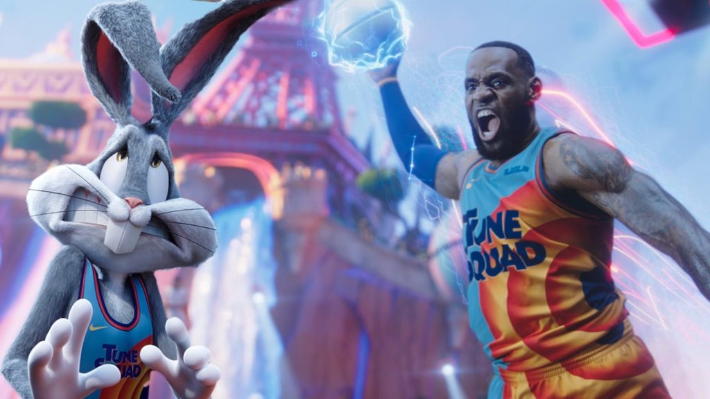 Space Jam 2 Nouvelle Ere LeBron James