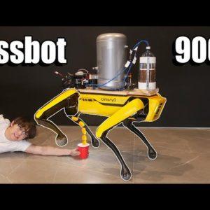 Image article Evolution 2.0 : désormais le robot Spot «pisse» littéralement … de la bière !