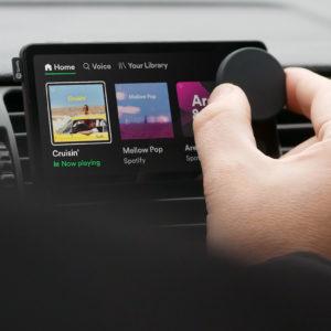 Image article Spotify annonce Car Thing, son premier produit (pour la voiture)