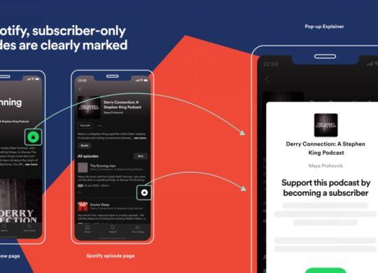 Spotify Service Podcasts Payants