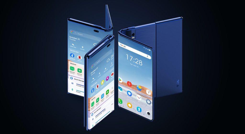 TCL Fold n Roll Smartphone
