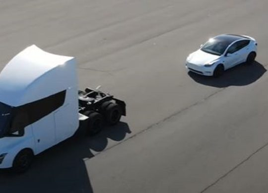 Tesla Semi et de Model X