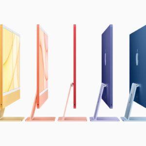 Image article Apple présente l'iMac M1 : tout nouveau design et plusieurs coloris