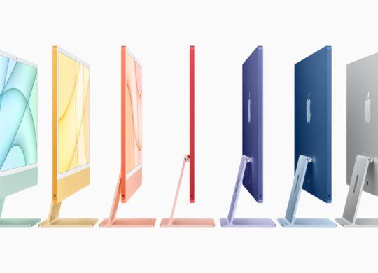 iMac M1 2021 Coloris
