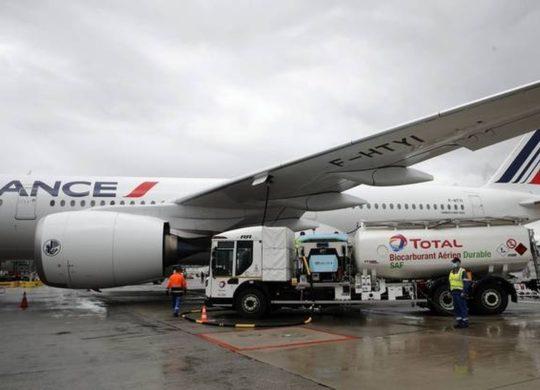Air France biocarburant avion