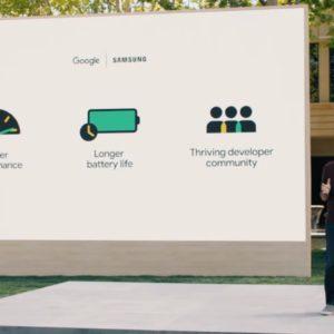 Image article [Google I/O] Google fusionne Wear OS avec Tizen de Samsung