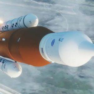 Image article Artemis 1 : la NASA vend du rêve avec une vidéo du décollage du SLS vers la Lune