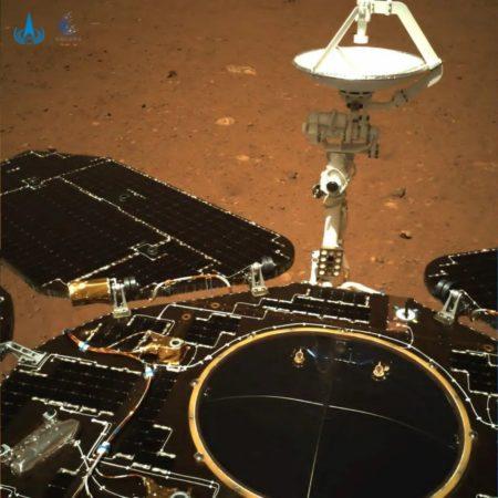 Chine Rover photo Mars 1