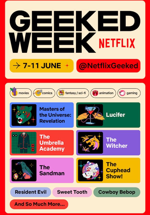 Netflix Geeked Week 2021