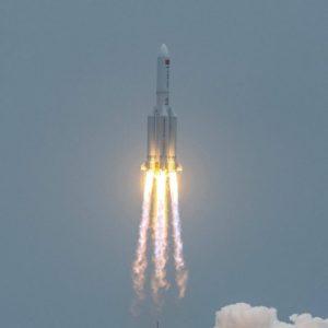 Image article Longue Marche 5B : fin de parcours sans dégâts pour la fusée chinoise