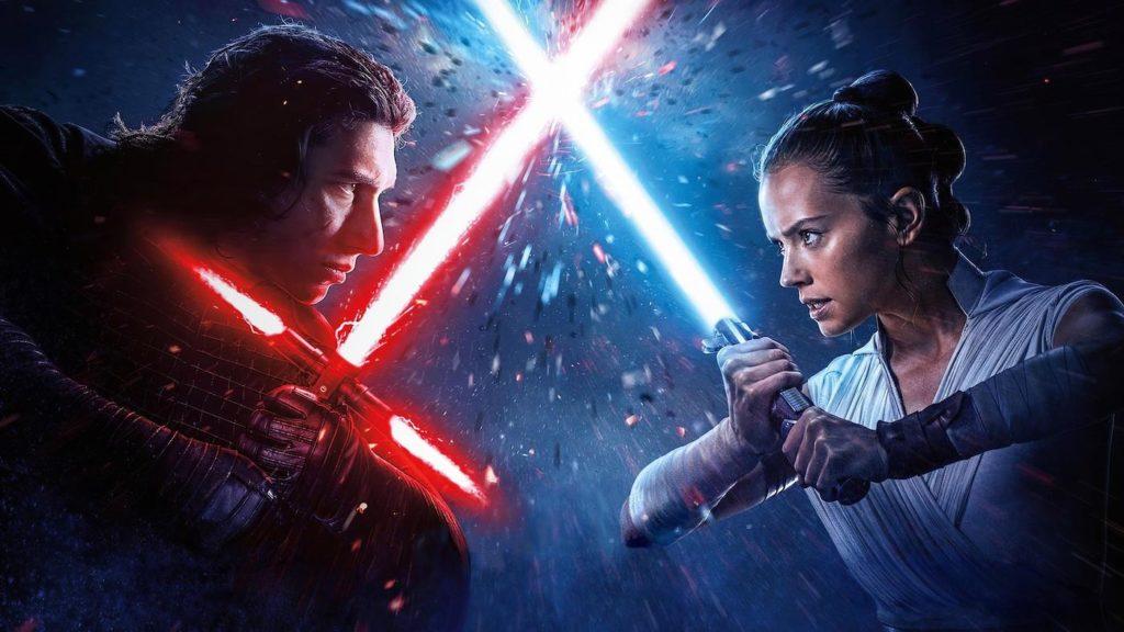 Rey vs Kylo Ren Star Wars 9