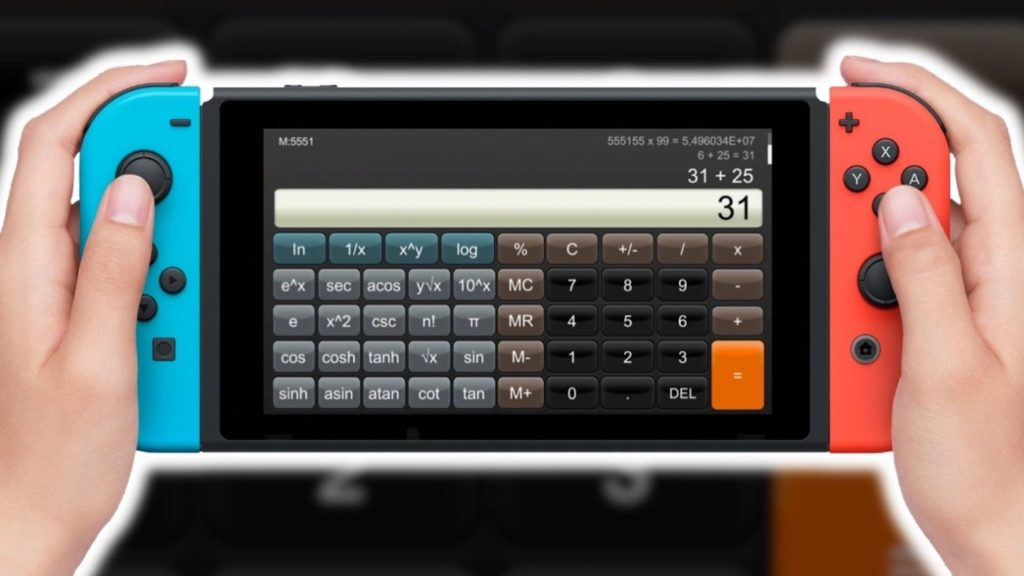 Switch Calculatrice