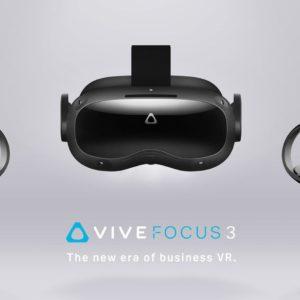 Image article Vive Focus 3 : HTC dévoile un casque VR autonome ultra puissant… pour les professionnels (5K, FoV 120°, XR2, etc.)
