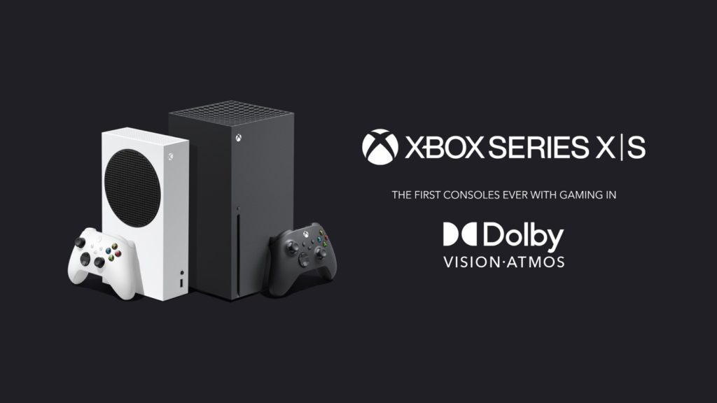 Xbox Series X et S Dolby Vision Dolby Atmos