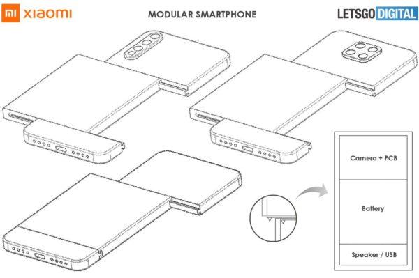 Xiaomi smartphone modulaire 1