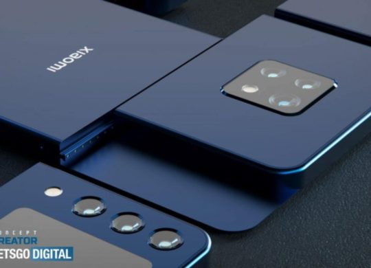 Xiaomi smartphone modulaire