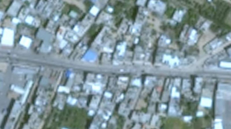 Image Gaza Google Earth