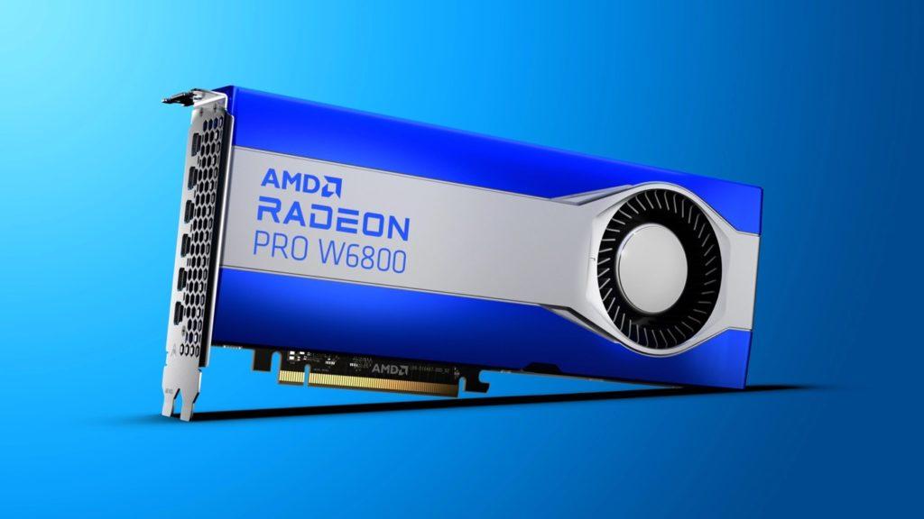 AMD présente les Radeon Pro W6000, de nouvelles cartes graphiques