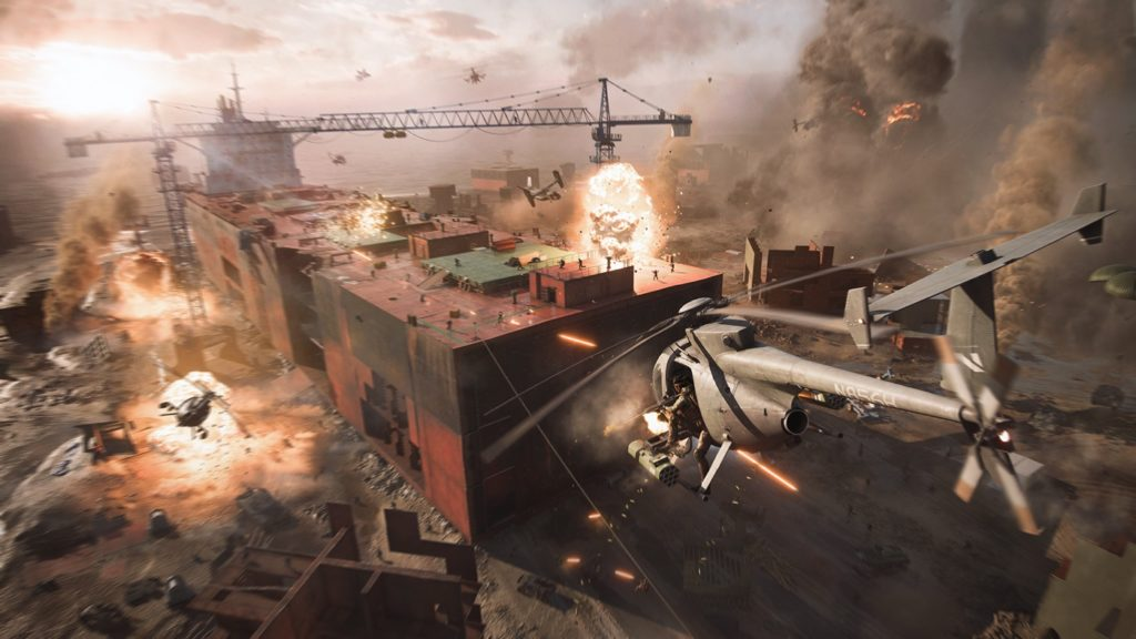 Battlefield 2042 Helicoptere Explosion