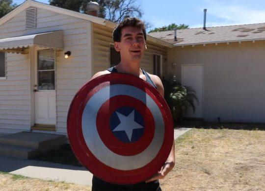 Captain America bouclier DIY