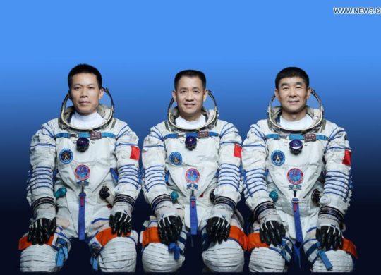 Chine equipage Shenzhou 12