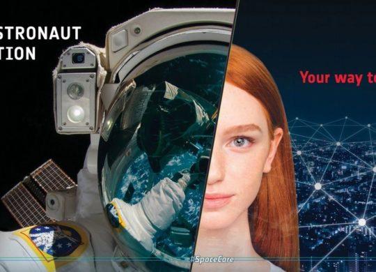 ESA recrutement astronanute
