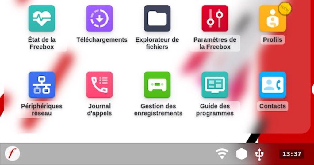 Freebox OS Nouvelle Interface