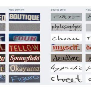 Image article Facebook dévoile une IA capable d'imiter n'importe quel style d'écriture