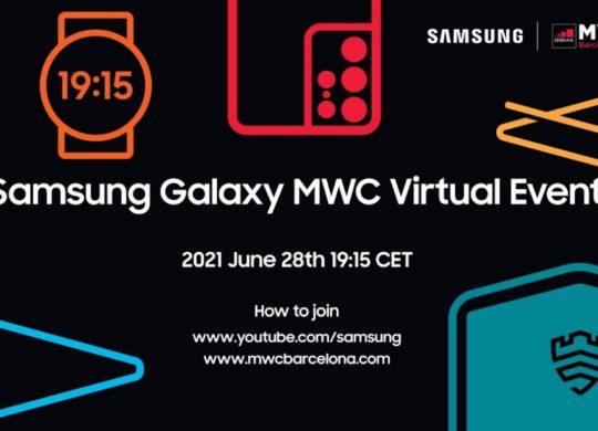Invitation Samsung MWC 2021