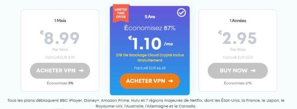 Ivacy VPN offres