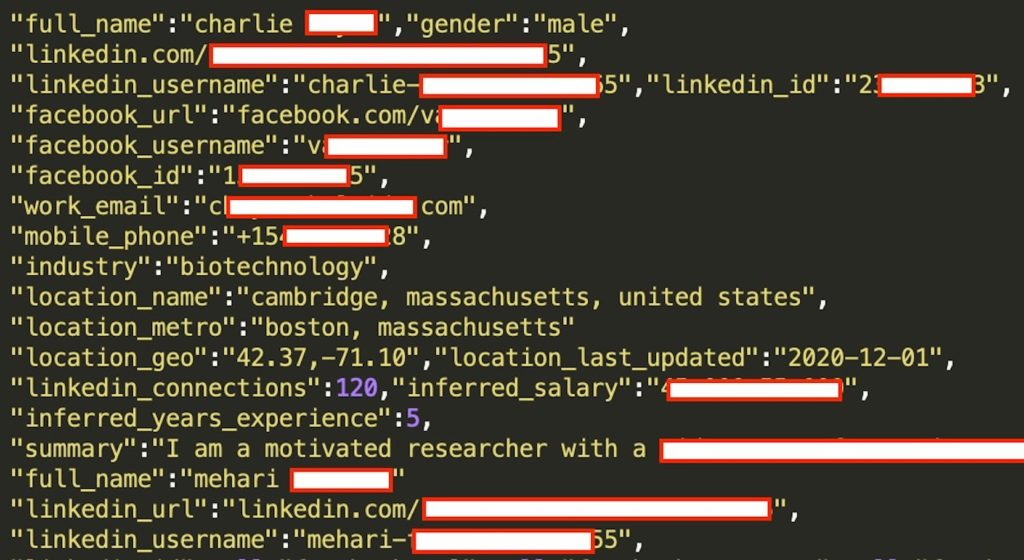 LinkedIn Fuite Donnees