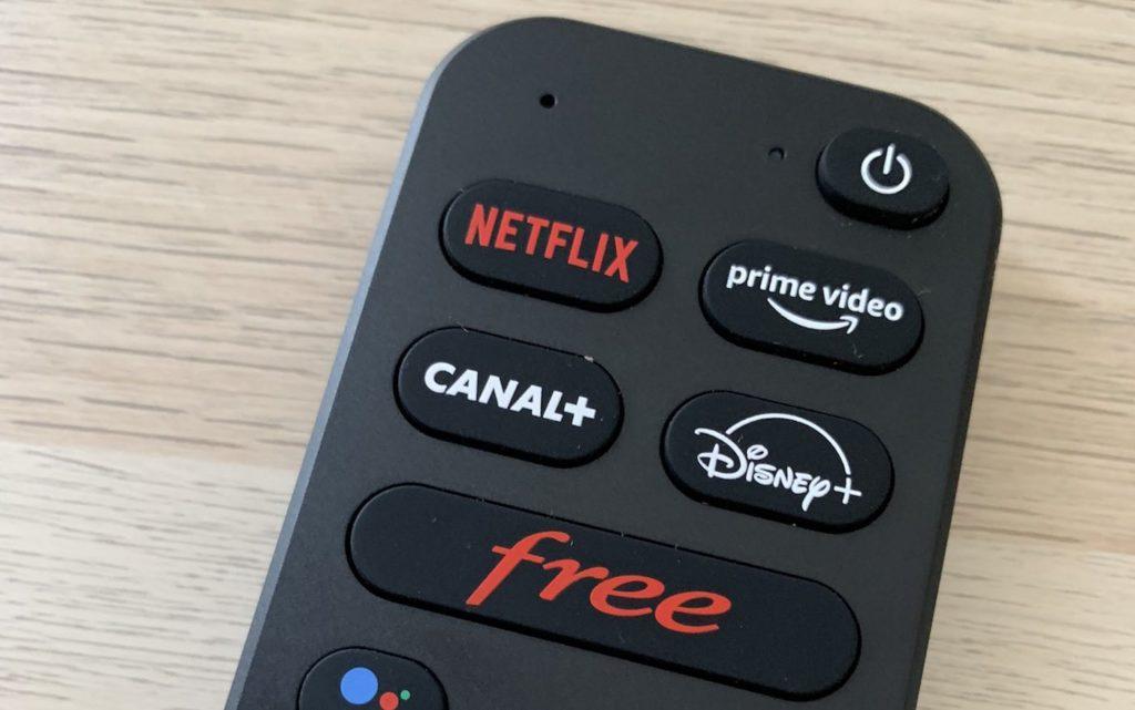 Nouvelle Telecommande Freebox Pop Boutons