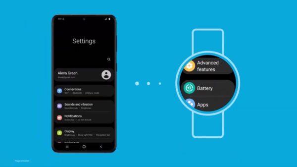 One UI Watch 1